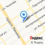 Специализированный центр учета в АПК на карте Барнаула