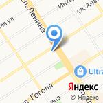 Родина на карте Барнаула