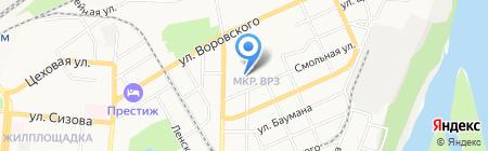 Служба аренды строительных лесов на карте Барнаула