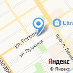 Русская кухня на карте Барнаула