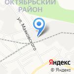 Анемона на карте Барнаула