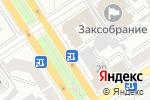 Схема проезда до компании ТОРТУГА в Барнауле