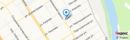Универсам удачных покупок на карте Барнаула