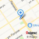 Стик-Тревел на карте Барнаула