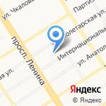 1 отряд Федеральной противопожарной службы по Алтайскому краю на карте Барнаула