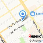 Барнаул Теплоком на карте Барнаула