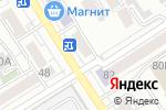 Схема проезда до компании Мария-Ра в Барнауле