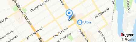 Наши новости на карте Барнаула