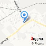 Билайн на карте Барнаула