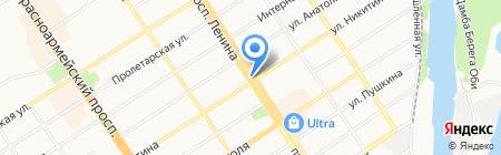 Часовня Святого Благоверного Князя Александра Невского на карте Барнаула