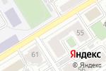 Схема проезда до компании Рыжковы и партнеры в Барнауле