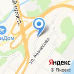 Детская академия на карте Барнаула