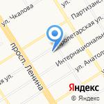 Центр защиты леса Алтайского края на карте Барнаула