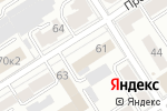 Схема проезда до компании Лес-Проект в Барнауле