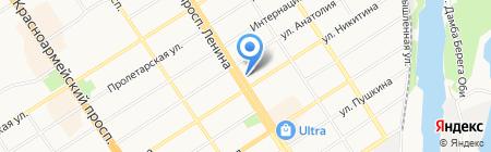 Российский трикотаж на карте Барнаула