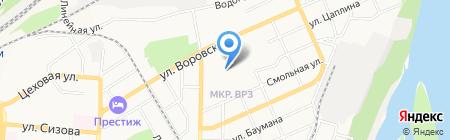 Каприз на карте Барнаула