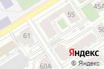 Схема проезда до компании Улыбка в Барнауле