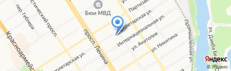 Архив на карте Барнаула