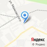 Библиотека №16 на карте Барнаула