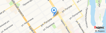 Комитет по физической культуре и спорту г. Барнаула на карте Барнаула