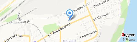 Следственное Управление Следственного комитета РФ по Алтайскому краю на карте Барнаула