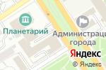 Схема проезда до компании Паломнический центр в Барнауле