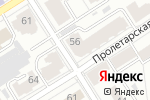 Схема проезда до компании PAESE beauty express в Барнауле