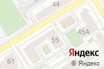 Схема проезда до компании Селф в Барнауле