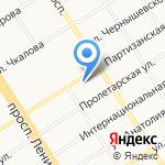 Valley Fitness на карте Барнаула