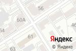 Схема проезда до компании Алтайпроект в Барнауле