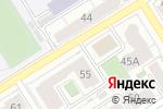 Схема проезда до компании KOZA в Барнауле