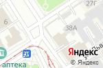 Схема проезда до компании Технодок в Барнауле
