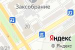 Схема проезда до компании ЮТА в Барнауле
