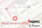 Схема проезда до компании Реал Эдванс в Барнауле