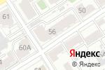 Схема проезда до компании La Maison в Барнауле