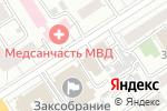 Схема проезда до компании Союзэнергопроект в Барнауле