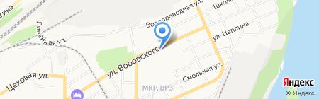 Ника на карте Барнаула