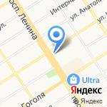 АИС на карте Барнаула
