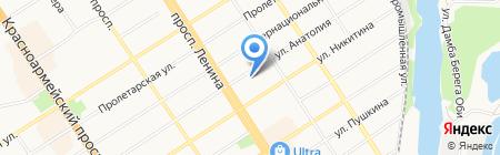 СоюзЭкспертиза на карте Барнаула