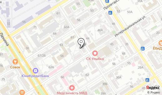 Содружество. Схема проезда в Барнауле