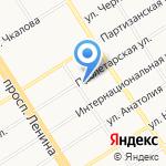 Земстройпроект на карте Барнаула