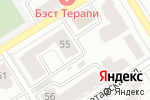 Схема проезда до компании Valley Fitness в Барнауле