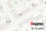 Схема проезда до компании Vintage в Барнауле