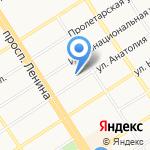 Реал Эдванс на карте Барнаула