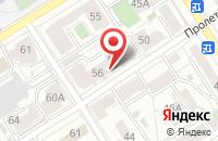 Схема проезда до компании Мк Поддержка в Барнауле