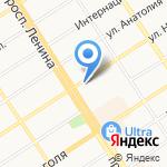 Ломбард-Инвест на карте Барнаула