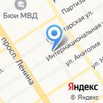 Эконом на карте Барнаула