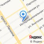 Фактория на карте Барнаула