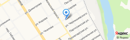 Линк на карте Барнаула