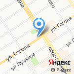 Газтеплокомплект на карте Барнаула